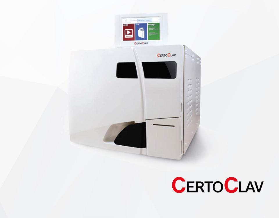 Autoklaw stomatologiczny CertoClav Vacuum Pro